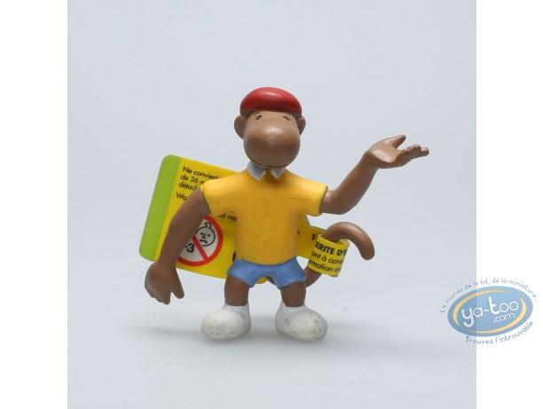 Figurine plastique, Babar : Zéphir le singe