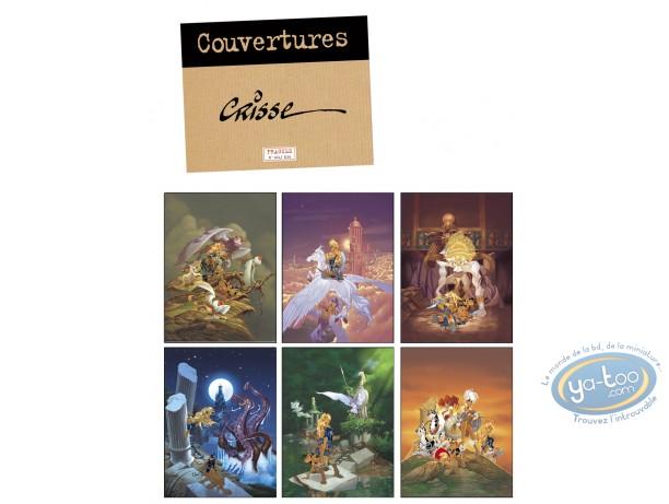 Portfolio, Atalante : Crisse, couvertures