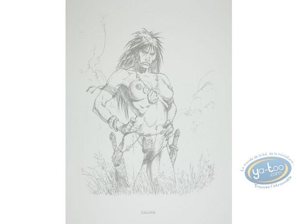 Affiche Offset, Amazones : Gallaine