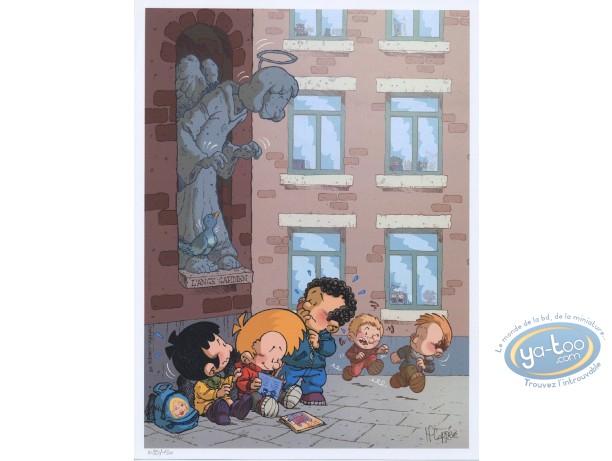 Affiche Offset, Blagues de Toto (Les) : Les Blagues de Toto, L'Ange gardien