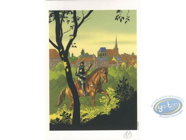 Ex-libris Offset, Highlands : Femme