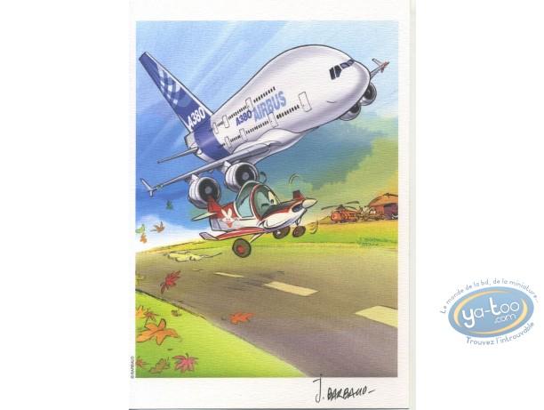 Ex-libris Offset, Dézingeurs (Les) : Airbus A380