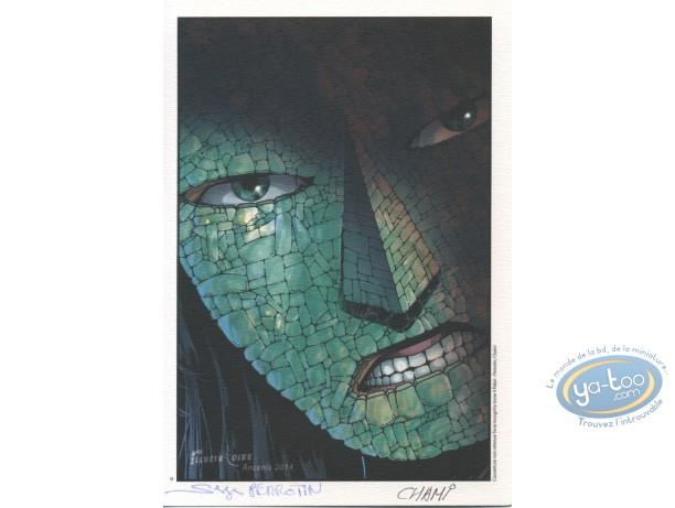 Ex-libris Offset, Perrotin, Le masque