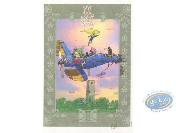 Ex-libris Offset, Gess, Machine volante