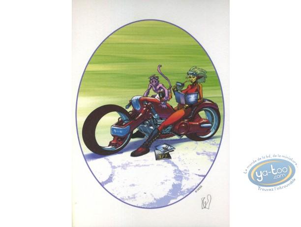 Ex-libris Offset, Moto & BD