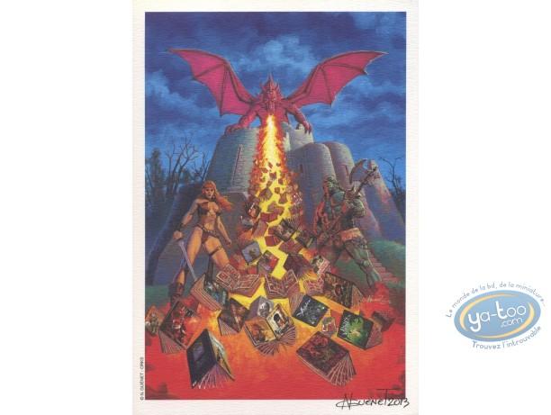 Ex-libris Offset, Orks : Dragon
