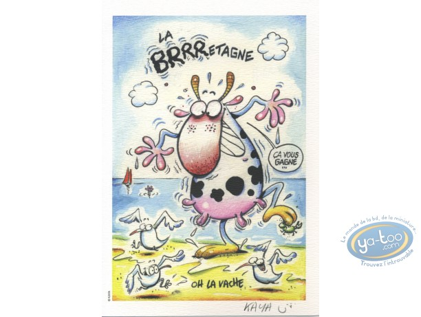 Ex-libris Offset, Kaya, La Brrretagne