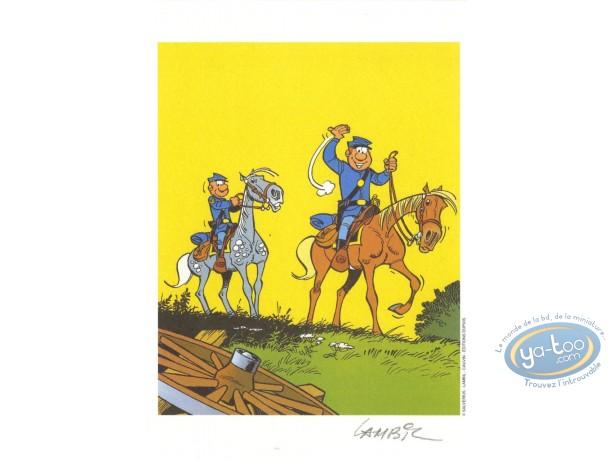 Ex-libris Offset, Tuniques Bleues (Les) : En avant !!