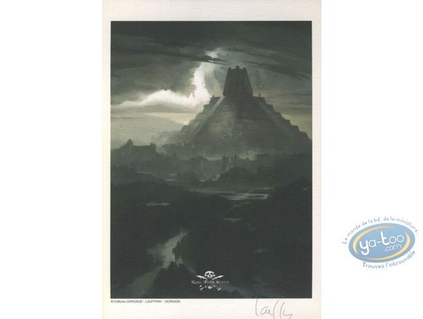 Ex-libris Offset, Long John Silver : Temple