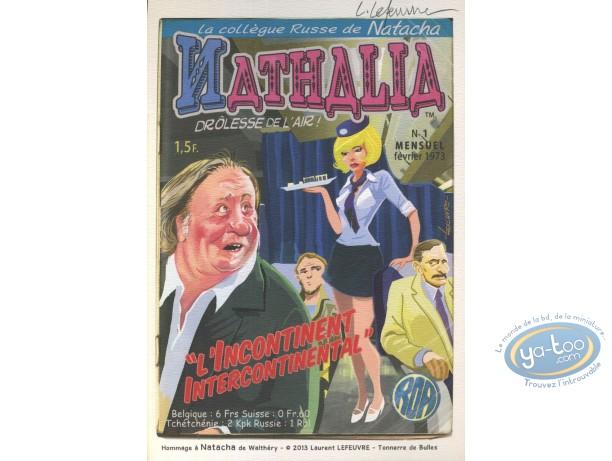 Ex-libris Offset, Natacha : Hommage à Natacha de Walthéry