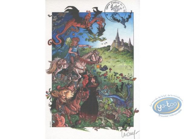 Ex-libris Offset, Percevan : Luguy, Festival BD Liguge