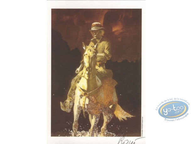 Ex-libris Offset, W.E.S.T : Cavalier