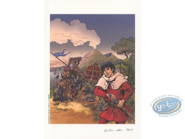 Ex-libris Offset, Vasco : Rousseau, Le convoi