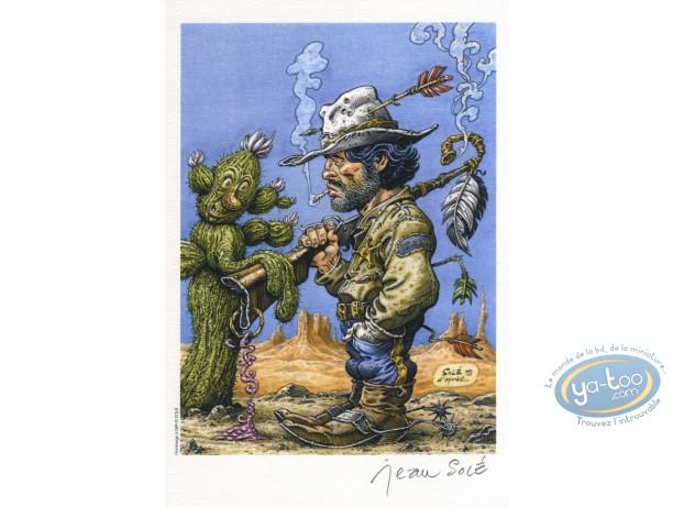 Ex-libris Offset, Hommage : Solé, Hommage à Blueberry