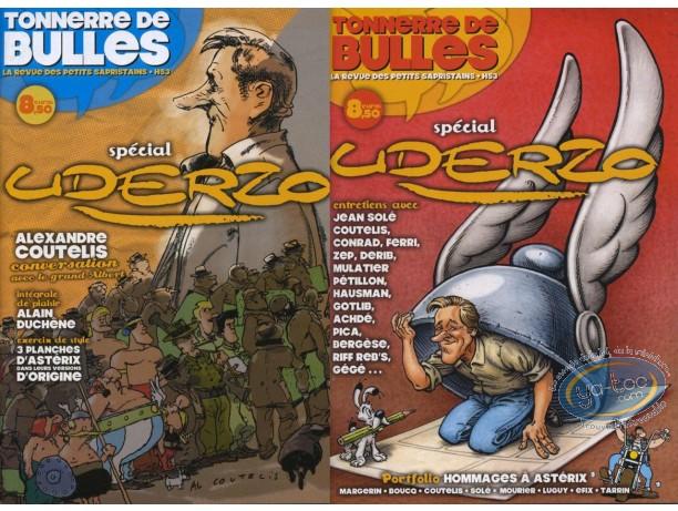 Monographie, Tonnerre de Bulles : Spécial Uderzo
