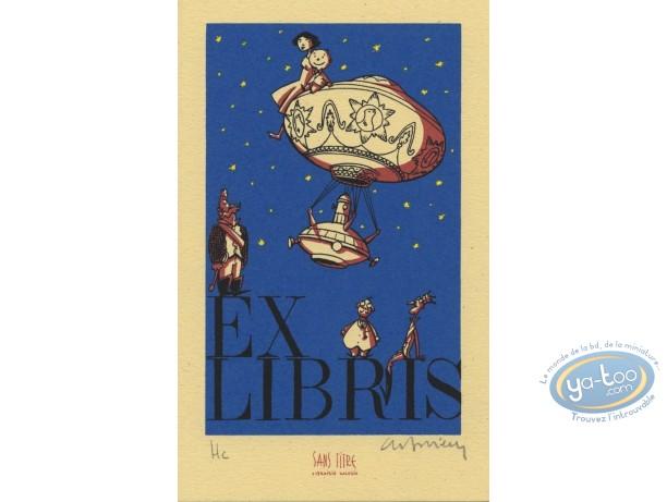 Ex-libris Sérigraphie, Benito Mambo : Benito Mambo