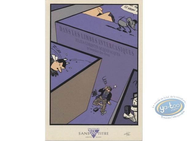 Ex-libris Sérigraphie, Julius Corentin Acquefacques : Lebeault, Hommage à Julius Corentin Acquefacques