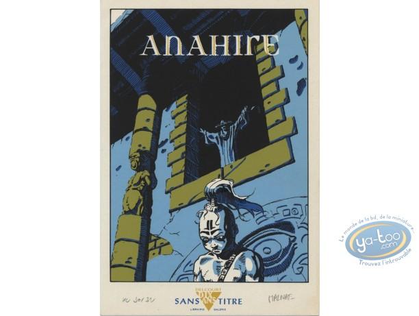 Ex-libris Sérigraphie, Anahire : Malnati, Anahire