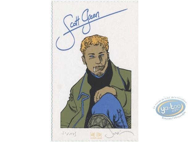 Ex-libris Sérigraphie, Esprit de Warren (L') : Scott Green