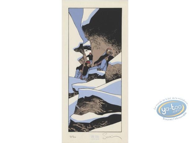 Ex-libris Sérigraphie, Esprit de Warren (L') : Guet-apens