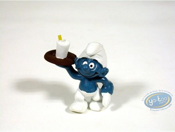 Figurine plastique, Schtroumpfs (Les) : Schtroumpf serveur