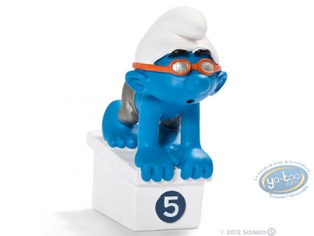 Figurine plastique, Schtroumpfs (Les) : Schtroumpf nageur