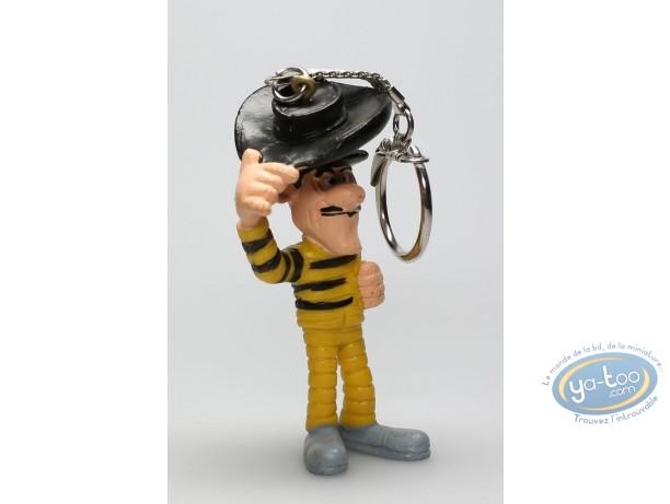 Figurine plastique, Lucky Luke : Porte-clé Jack Dalton saluant