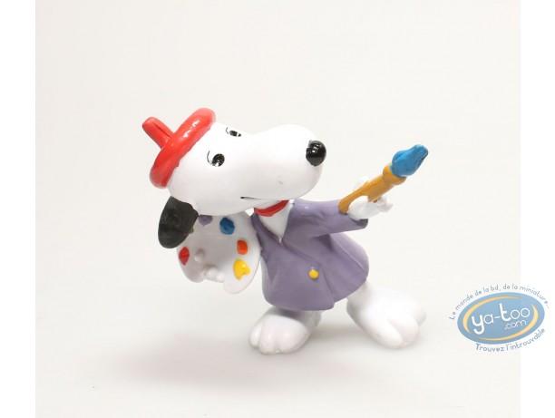 Figurine plastique, Snoopy : Snoopy peintre