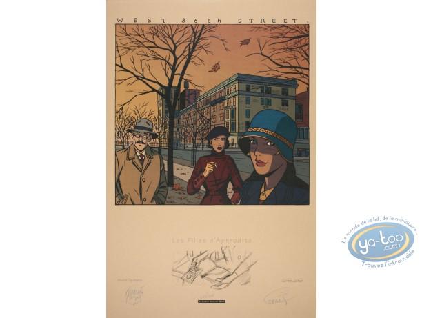 Affiche Sérigraphie, Filles d'Aphrodite (Les) : West 86th Street