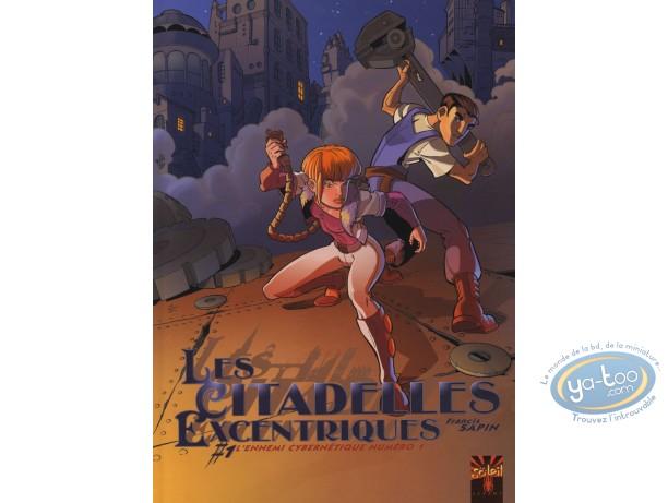 BD occasion, Citadelles Excentriques (Les) : L'ennemi cybernétique numéro 1