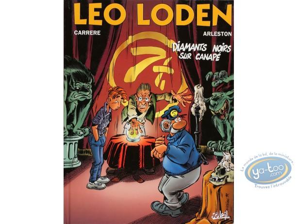 BD cotée, Léo Loden : Leo Loden, Diamants noirs sur canapé