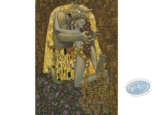 Ex-libris Offset, Trolls de Troy : Hommage à Klimt