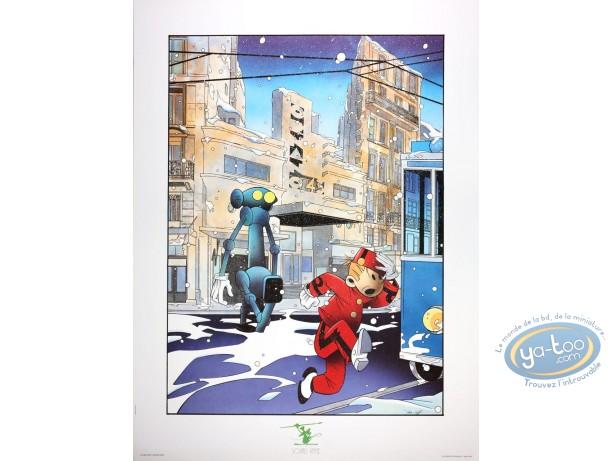 Affiche Offset, Le Robot attaque