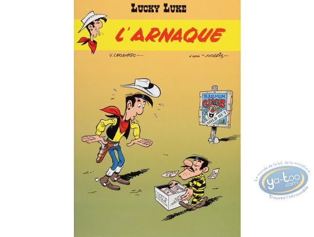BD neuve, Lucky Luke : L'arnaque