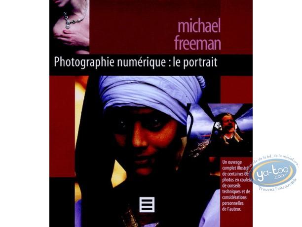Livre, Le Portrait - Photographie numérique