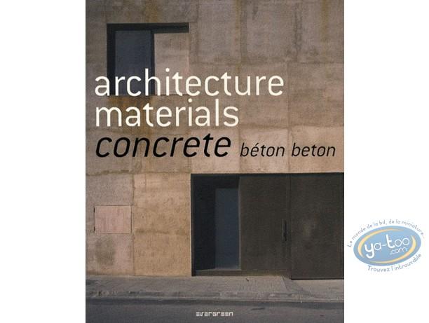 Livre, Architecture materials - Concrete