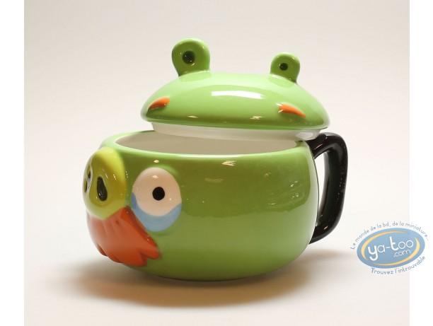 Art de la Table, Angry-birds : Mug, Angry-birds : vert
