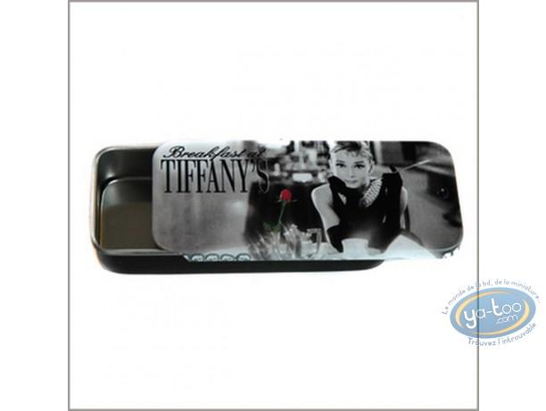 Boite, Audrey Hepburn : Petite boite Tiffany : Audrey Hepburn.