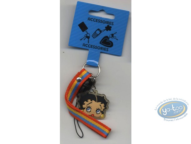 Accessoire GSM, Betty Boop : Petite Lanière GSM : Betty Boop