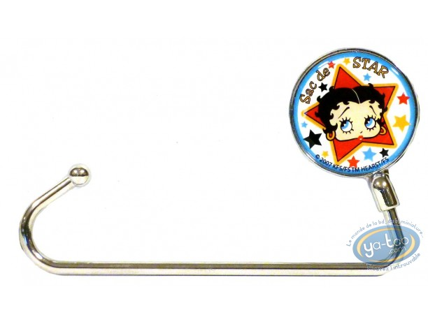 Bagagerie, Betty Boop : Accroche-sac, Betty Boop