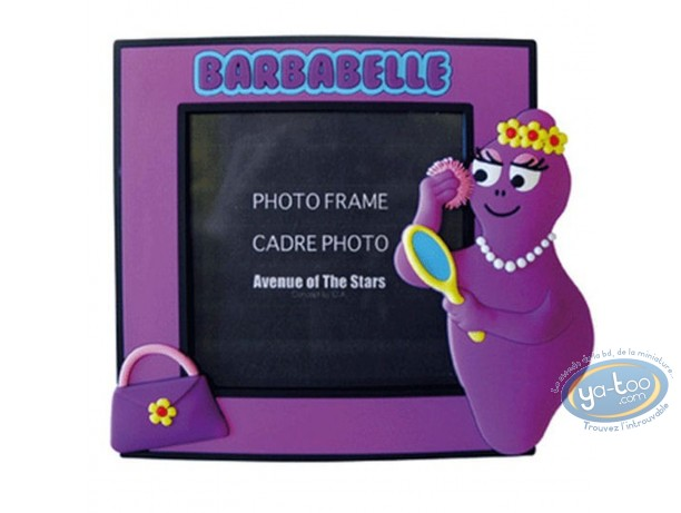 Cadre photo, Barbapapa : Cadre photo Barbabelle