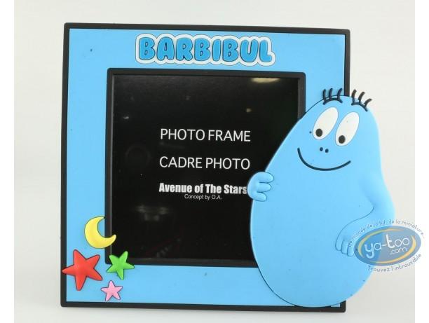 Cadre photo, Barbapapa : Cadre photo bleu Barbibul