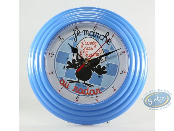Horlogerie, Caliméro : Horloge, Calimero : Z'avez pas l'heure