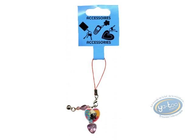 Accessoire GSM, Caliméro : Pendentif métal pour portable, Caliméro