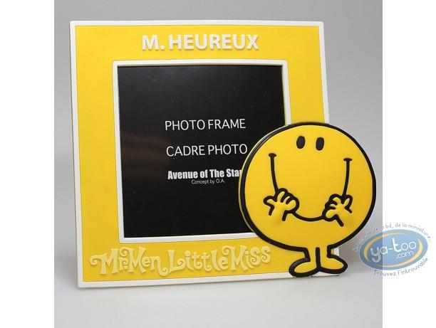 Cadre photo, Monsieur et Madame : Mr Heureux Jaune
