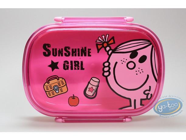 Art de la Table, Monsieur et Madame : Boite à tartine Miss Sunshine : Rose
