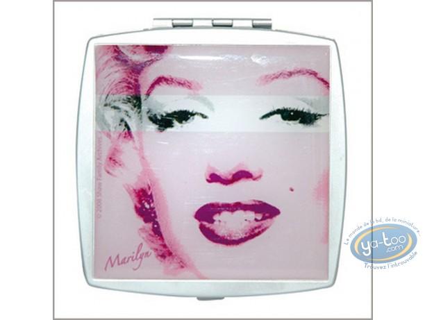 Mode et beauté, Marilyn Monroe : Miroir de poche Marilyn Monroe