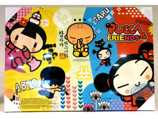 Déco, Pucca : Cadre en toile, Pucca 'Abyo' 50 x36
