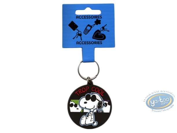 Porte-clé PVC, Snoopy : Snoopy