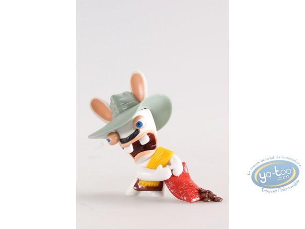 Figurine plastique, Lapins Crétins (Les) : Colombie (sac grains café)